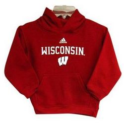 Pre-School Boy's University of Wisconsin Sideline Hoodie