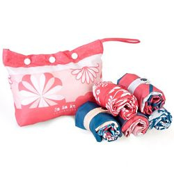 Sunkissed Pouch with Reusable Shopping Bags