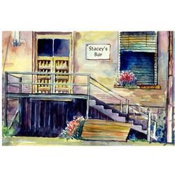 Old Town Roadhouse Personalized Art Print