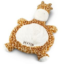 Giraffe Baby Belly Mat
