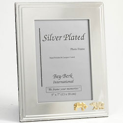 Silver-Plated Stock Market Frame