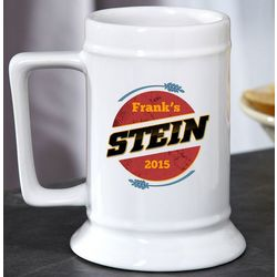 Fill It Up Personalized Beer Stein