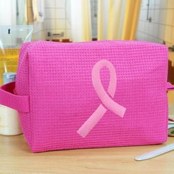 Pink Ribbon Cosmetic Bag