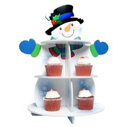 Snowman Cupcake Holder
