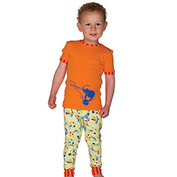 Birthday Circus Pajamas for Toddlers
