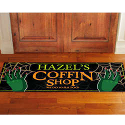 Personalized Halloween Door Runner