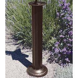 Hand-Cast Aluminium Pedestal