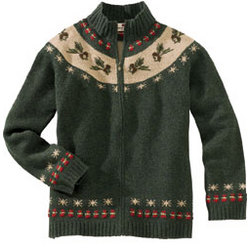 Women's Pointsettia Cardigan