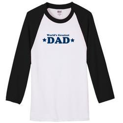 World's Greatest Dad Raglan Jersey
