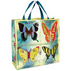 Blue Q Butterfly Shopper Bag