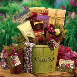 Spring In Bloom Mother's Day Gardener Gift Basket