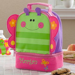 Personalized Butterfly Lunch Bag