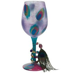 Ostentatious, Too Wine Glass