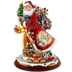 Santa's Timeless Disney Treasures Tabletop Figurine