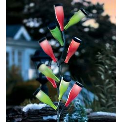 Metal Bottle Tree Accent Light
