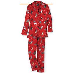 Cat's Meow Flannel Pajamas