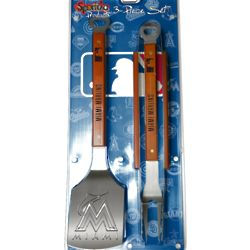 Miami Marlins BBQ Sportula Set