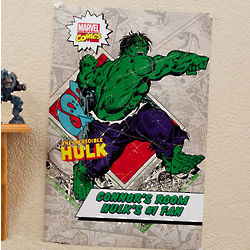 "Personalized 12"" x 18"" Marvel Comics Superhero Poster"