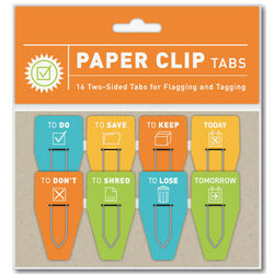 To Do/To Don't Paper Clip Tabs