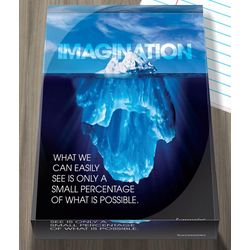 Imagination Iceberg Paperweight