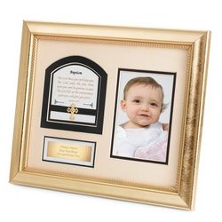 The Lord Bless You and Keep You Baptism Shadowbox