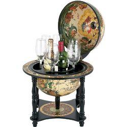 Palermo Renaissance Italian Style Globe Bar