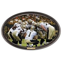 Going the Distance New Orleans Saints Personalized Photo Plate