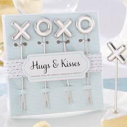 Hugs & Kisses Stainless-Steel Appetizer Picks