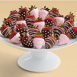 Two Full Dozen It's a Girl Chocolate Strawberries