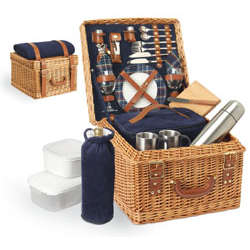 Canterbury English Style Willow Picnic Set for 2