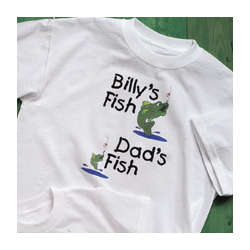 My Fish Verses Your Fish Adult T-Shirt