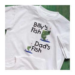 My Fish Verses Your Fish Adult T-Shirt