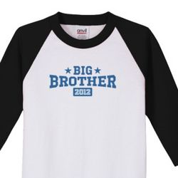 Kid's Big Brother 2012 3/4 Sleeve Jersey