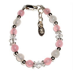 Pink Crystals Baby Bracelet