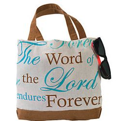 Adult Contemporary Bible Tote