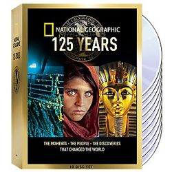 National Geographic 125th Anniversary DVD Collection