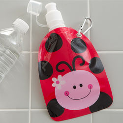 Reusable Ladybug Little Squirt Drink Pouch