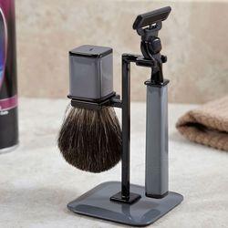 Dark Grey Refined Gent Shaving Kit