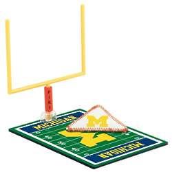 Michigan Wolverines Fiki Football Game Set