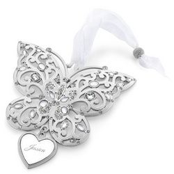 2014 Make-A-Wish Butterfly Christmas Ornament