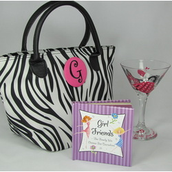Girlfriends Personalized Gift Tote Set