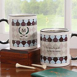Golf Pro Personalized Coffee Mug