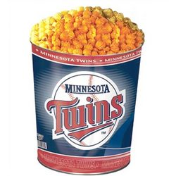 Minnesota Twins 3 Way Popcorn Gift Tin