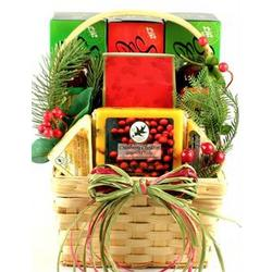 Holiday Sausage & Cheese Gift Basket