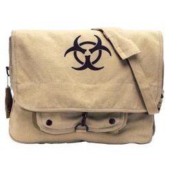 Khaki Bio-Hazard Vintage Bag