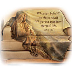 The Comforts of Faith Fleece Blanket