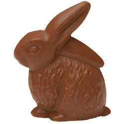 All Natural Solid Milk Chocolate Bunny