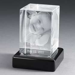 Photo Crystal with Black Base