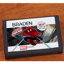 Personalized Spiderman Wallet