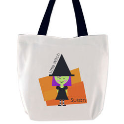 Little Witch Trick or Treat Bag